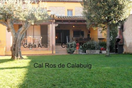 Casa Ros,20 mins-Costa Brava beach - Calabuig - Hus