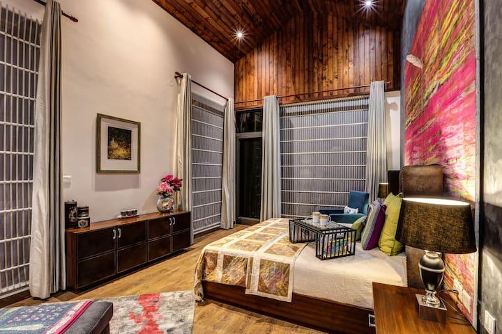 The Hermitage: Emerald Villa - Suite 3 - Kasauli - 別荘