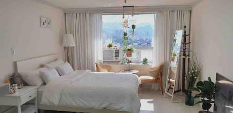 #행복 2호룸#아늑하고따뜻한방♡ 속초해수욕장도보2분# 예쁜방#