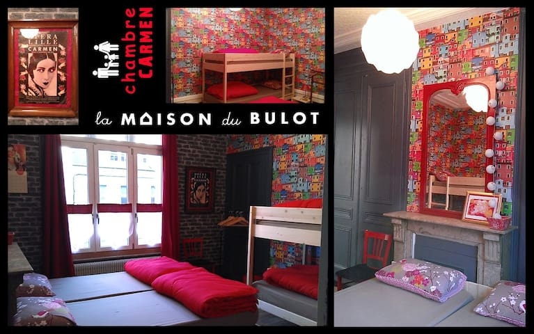 la maison du bulot: chambreCARMEN - Fruges - Bed & Breakfast