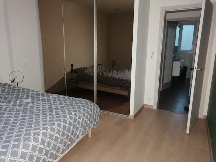 Appartement à 100m de la plage pour 6 à 8 pers