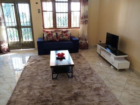 Entebbe Cozy Apartment, WiFi, Parking, Washer