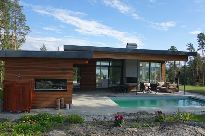 A dream house on island inc. pool