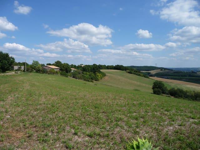 gîte de caractère  dans ferme A.B - Grateloup-Saint-Gayrand - Hus