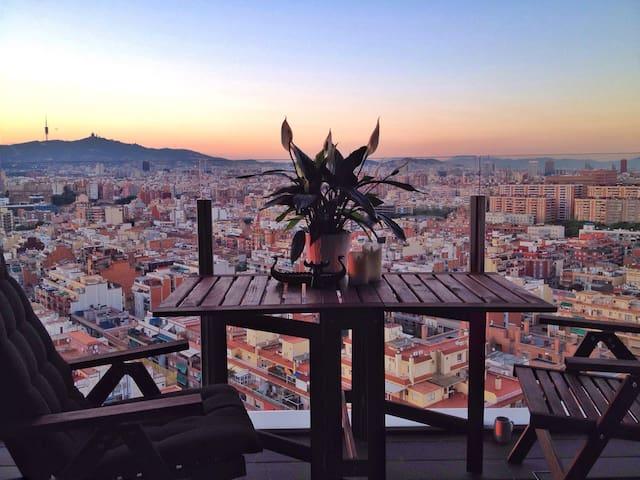 Apartment Fira Gran Via + parking B - L'Hospitalet de Llobregat - Appartement