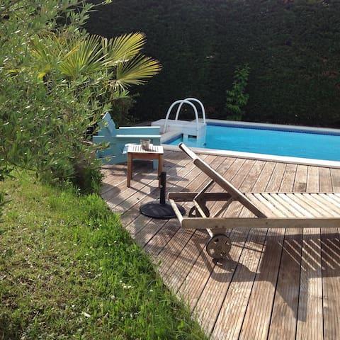 Maison proche bordeaux et océan - Saint-Aubin-de-Médoc - Huis