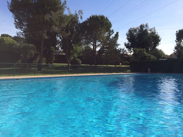 Appartement 3p avec piscine tennis - Mougins - Apartamento