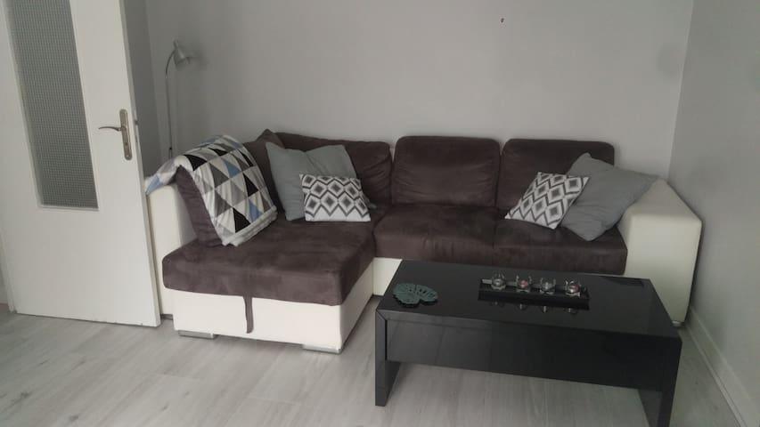 Chambre privée dans un appartement accueillant - Caen - 아파트