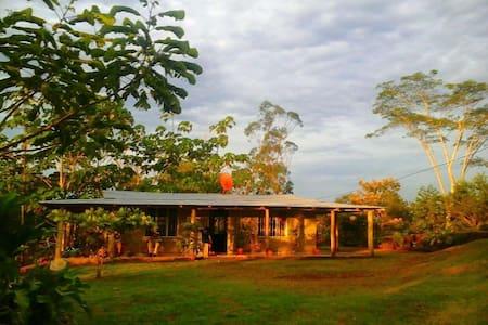 Finca Pipillo, casa rústica, paraíso natural - Río Cuarto - Alojamento na natureza