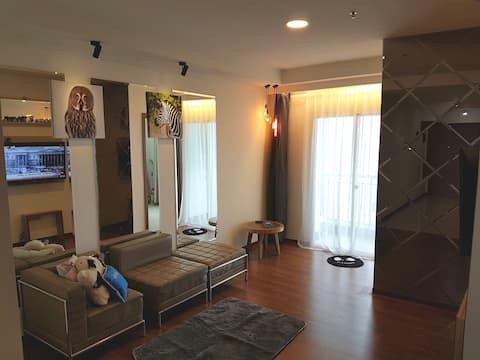 #2 Bed Room Amazing Sea View Condo 80sqm Fast Inte