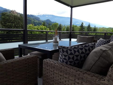 Apartment 90 m² for up to 5 people near Schwaz in Tyrol