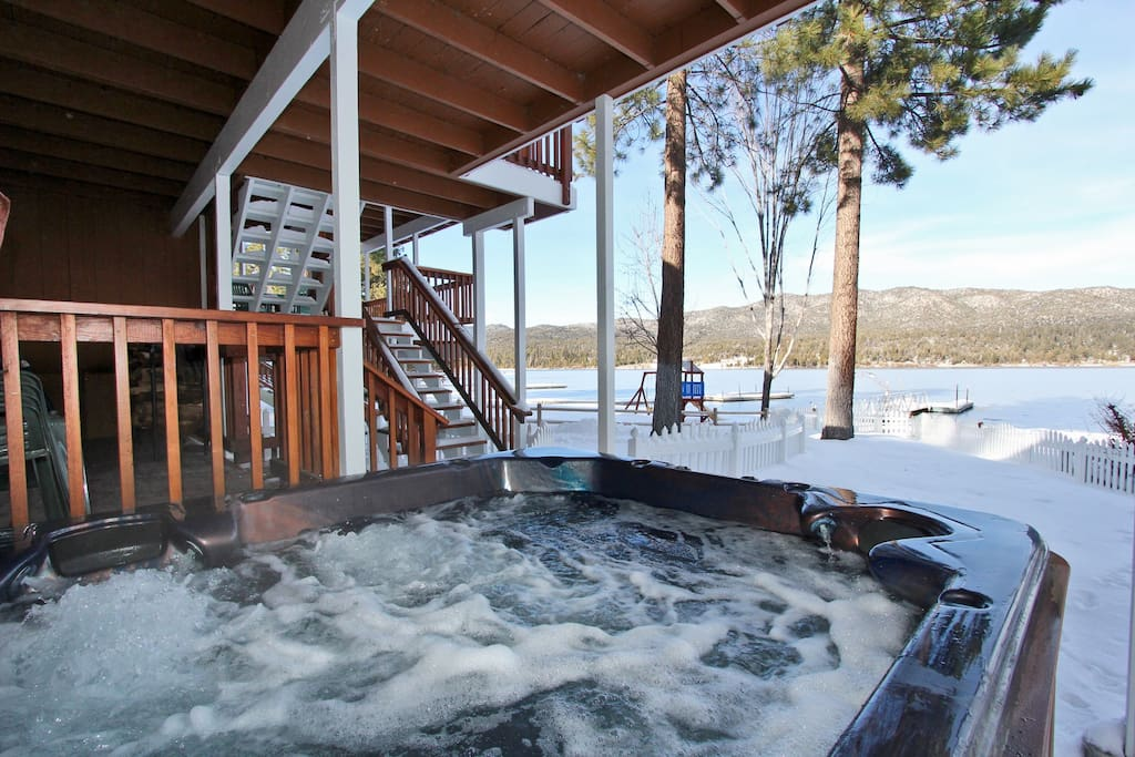 Lakefront Manor Pool Table Spa Houses For Rent In Big Bear Lake California United States