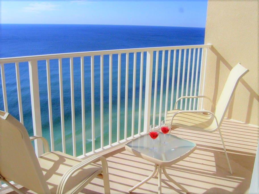 Balcony with Gulf View