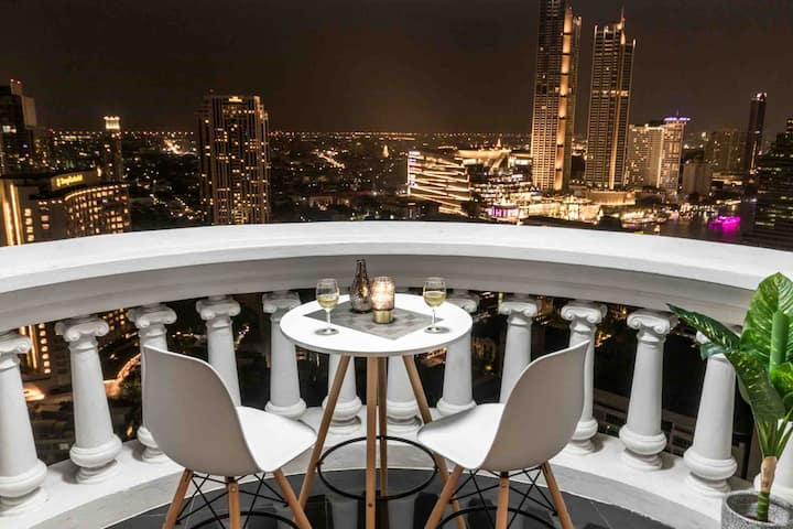 HOT DEAL Amazing RiverView Old town 5minBTS SKYBAR