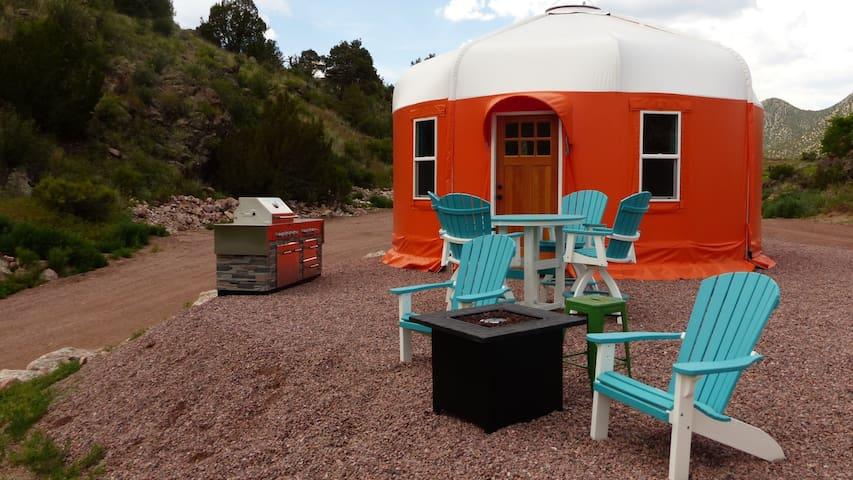 Sunset Luxury Riverside Yurt