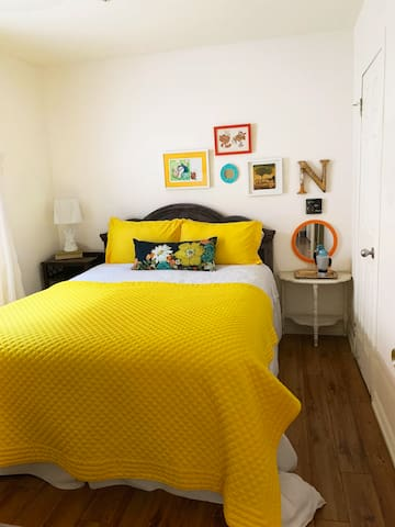 Bedroom 2.  This suite is on the ground floor.