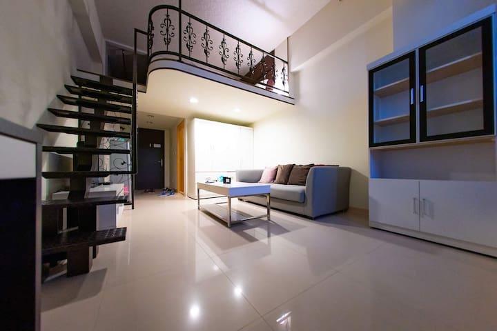 *Cool loft *View of Top 101 高級公寓