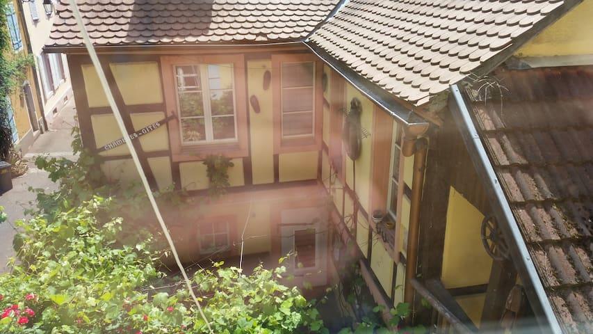Charmant studio1 refait à neuf maison alsacienne - Colmar