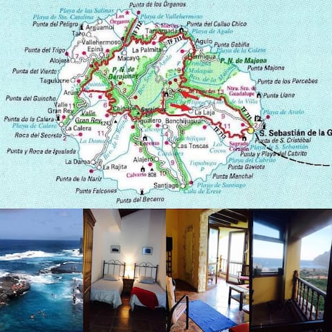 Casas Rurales Santa Catalina - Hermigua - Apartament