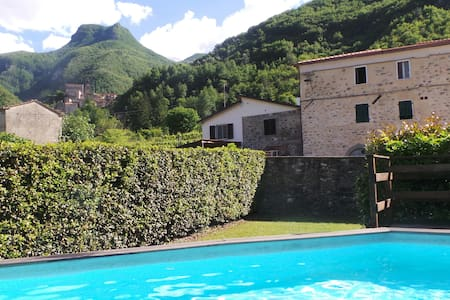 Tuscan Apartment with Pool, Monzone - Monzone - Huoneisto