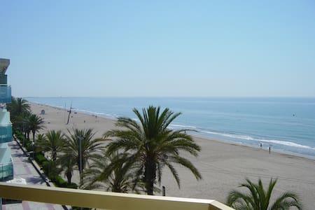 Super apartment, fantastic views, ocean-front, 4 p - Calafell - Departamento