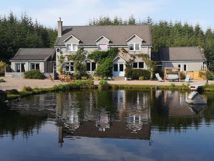 Lake House Private/secure annexe with own entrance