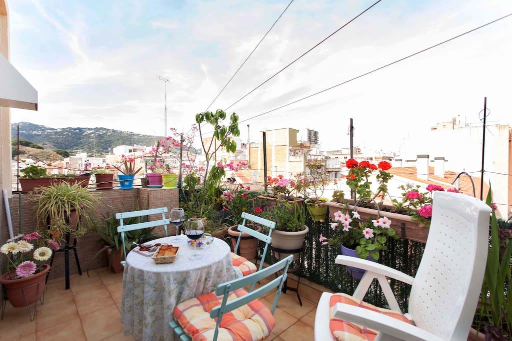 Cozy Penthouse in Calella