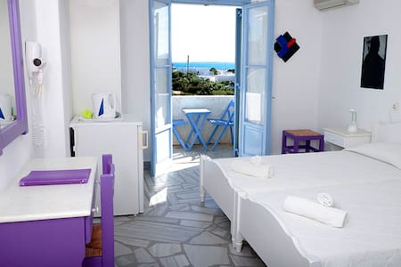B&B Agrikia Chambre double - Aliki