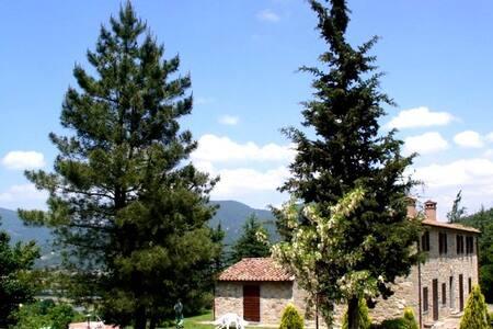 IL NIDO appartamento- casale UMBRIA - Lisciano Niccone