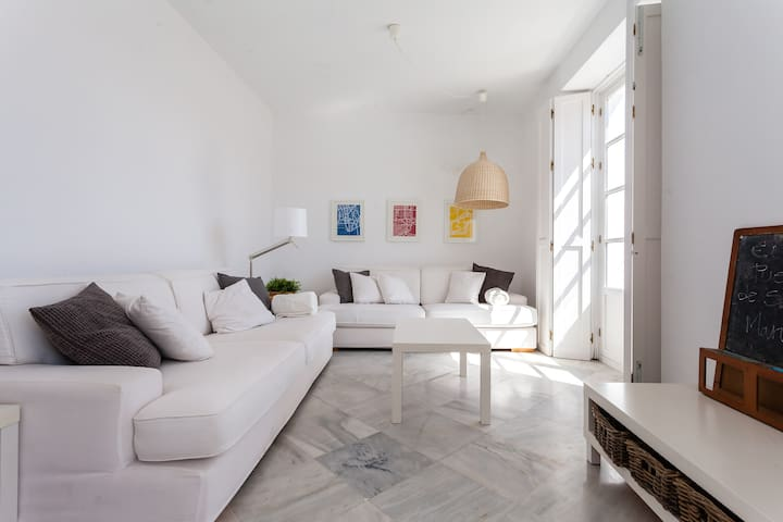 Palace house with roof terrace - El Puerto - Apartmen
