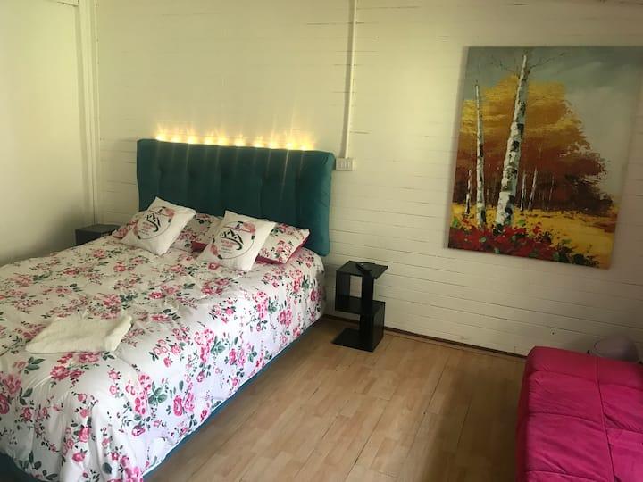 Habitación para dos personas en Hostal Hostel Room
