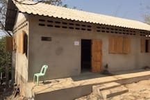 This is the boarding house we build for 40-50 girls in 2016-2017 and for the boys this time 2017-1018. THANKS!!