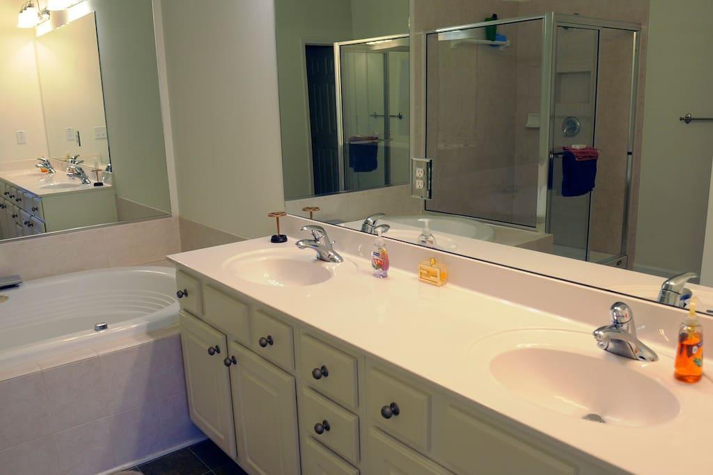 Extra large bathroom
