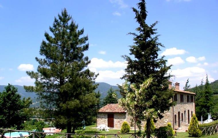 LA CASCINA/ALBERI-LO SCOIATTOLO - Lisciano Niccone - Appartamento