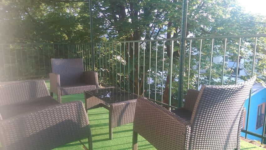SUNSET apartment with great balcony - Salzburg - Daire