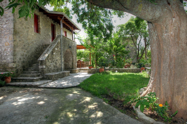 Menelia Cottage and it's garden