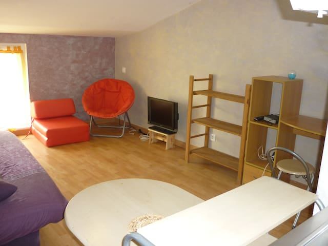 Studio 25m2 proche de La Rochelle - Esnandes - Apartamento