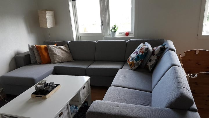 2 bedrooms apartment with a nice view in ålesund