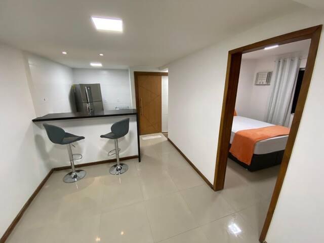 Apartamento em Condomínio, Praia do Bonfim, Angra.