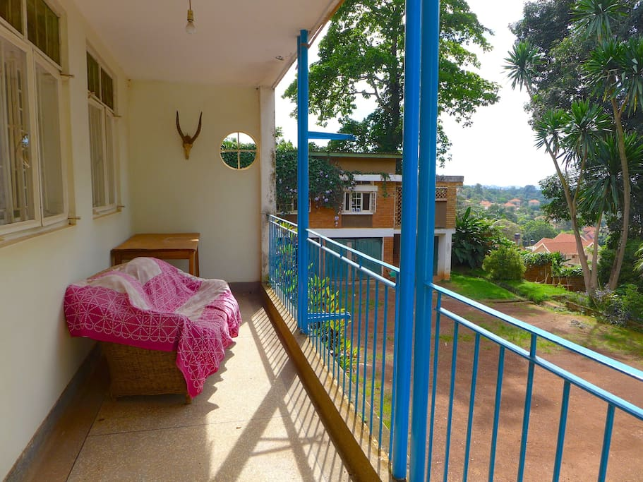 Private balcony - double en suite room