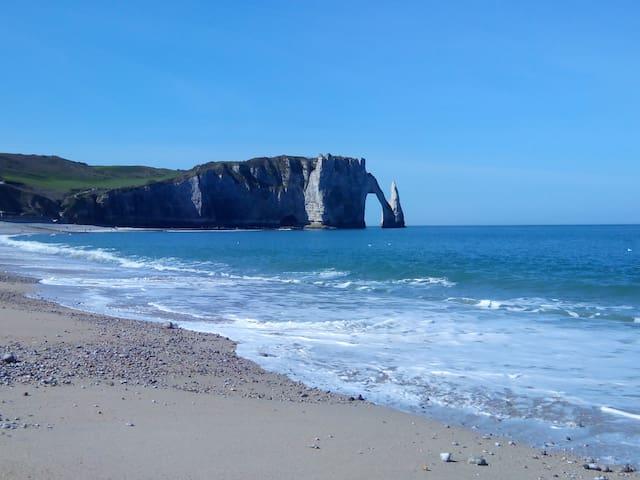 """""""Au refuge du Pêcheur"""" à 30m de la plage"""