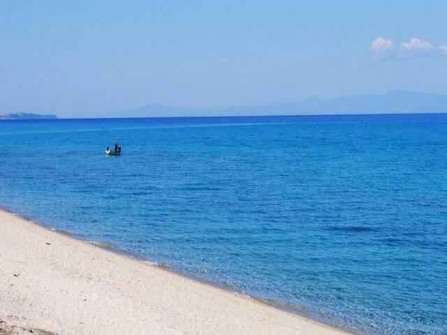 3 BD, Maisonette, Sea view in Hanioti Kassandra - Hanioti - House