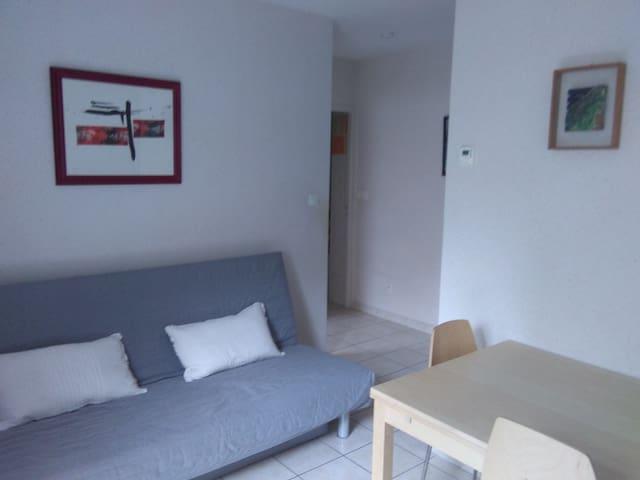 Logement rez de jardin 35 m2 2/3 p. - Brioude - Huoneisto