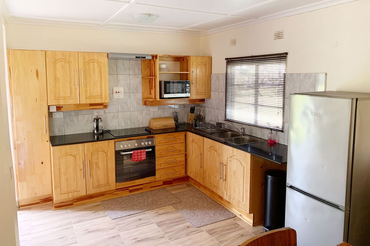 Cottage 2's fully equipped kitchen