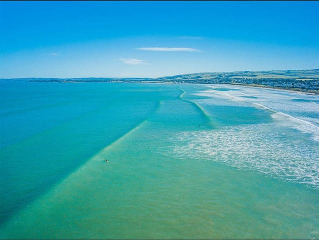 ♥️'Tahren' Beachfront Shack♥️ WiFi - Pet-Friendly