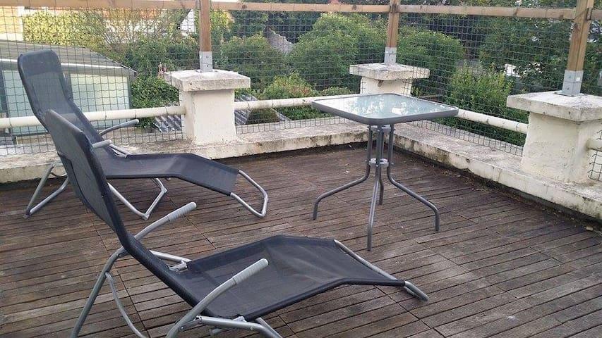 appart avec terrasse privee - Dunkerque - Wohnung