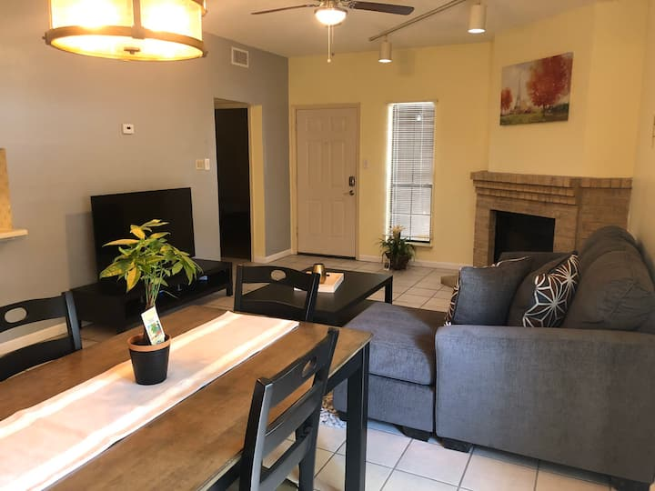 2/2 Condo - medical area - 10 mins from downtown