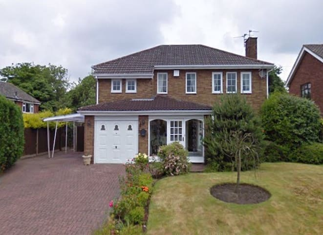 Detached house in village location