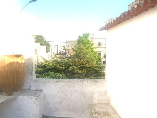Casa con terrazzo nel Salento - Minervino di Lecce - Huoneisto