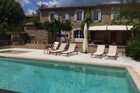 House near Aix-en-Provence - Saint-Martin-de-la-Brasque - Huis
